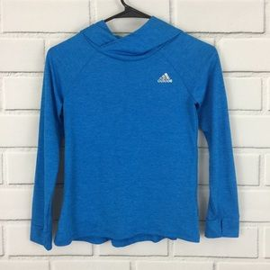 Adidas Climalite Active Top Hoodie Thumb Holes